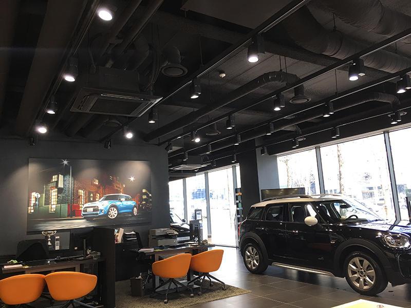 LED Lighting Used In Korea BMW SHOP