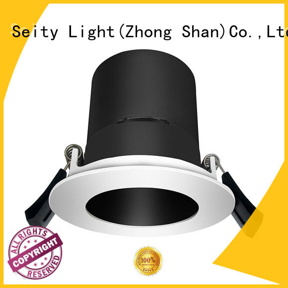 LED hotel light led down light housing 132001-1 MAX 9W
