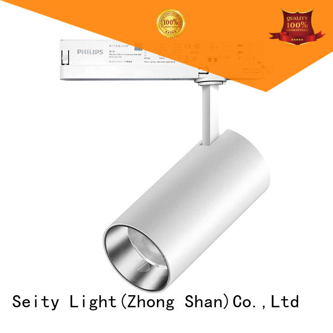 excellent industrial track lighting heads for hotel Seity