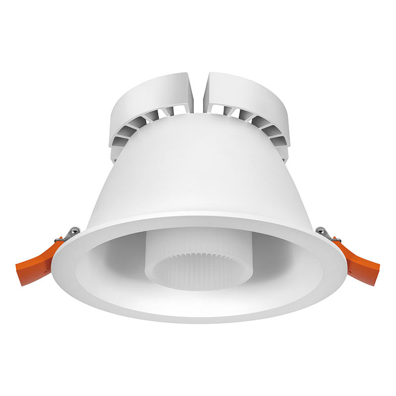 LED down light with anti-glare low profile led downlights 121001-8 MAX 50W
