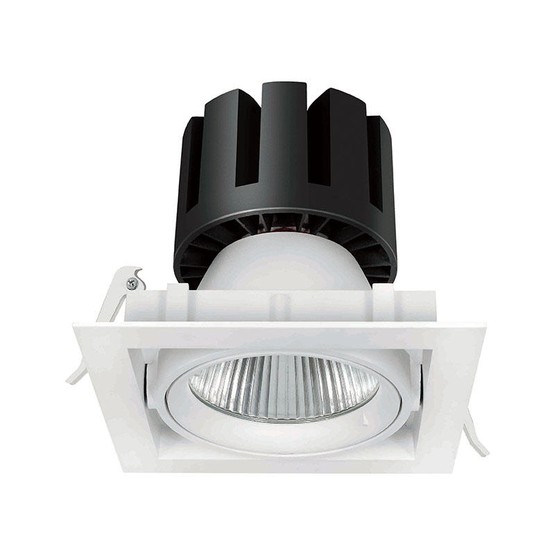 Square LED down light/grille light  fitting led downlights 207021-2 MAX 80W