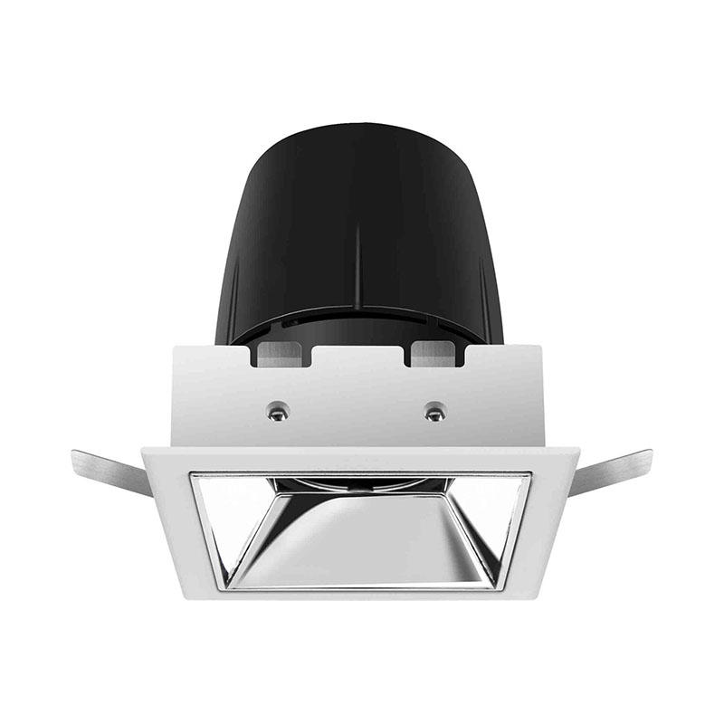 LED hotel light with adjustable head 127003-1 MAX 12W