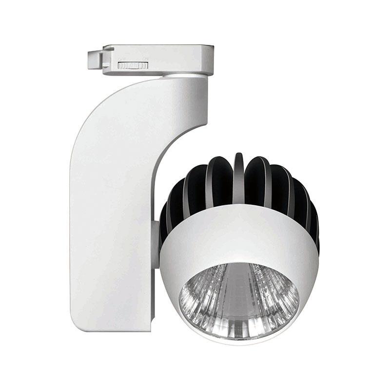 Round LED track light indoor track lighting 333201 MAX 30W