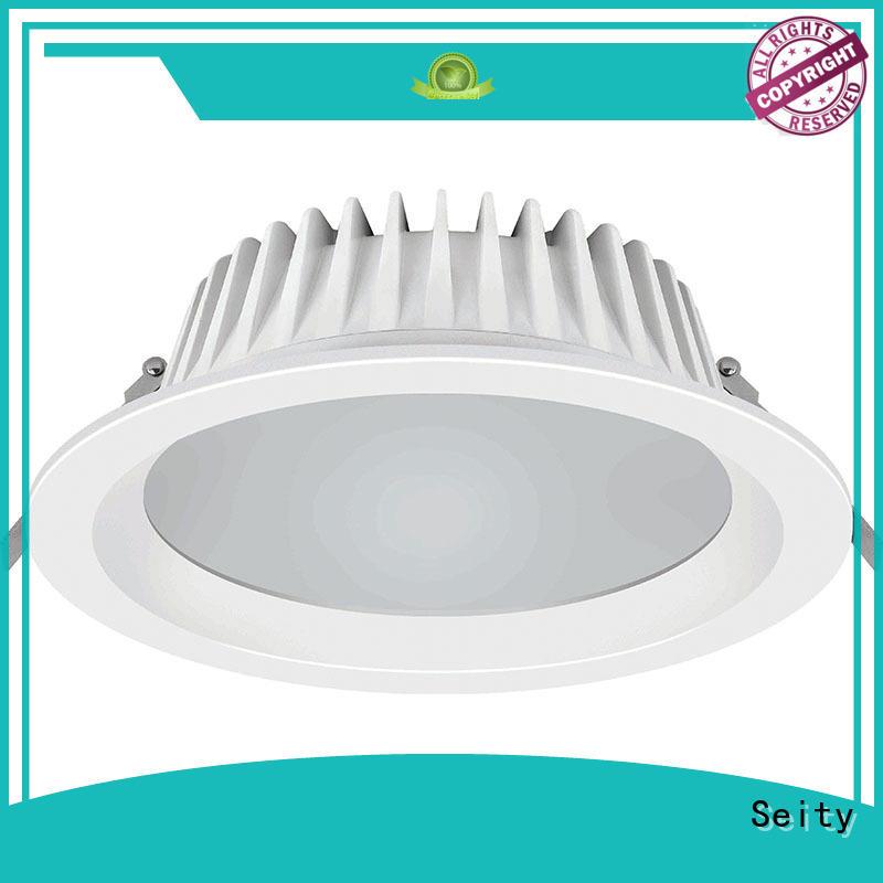 designed white downlights with dark light for market
