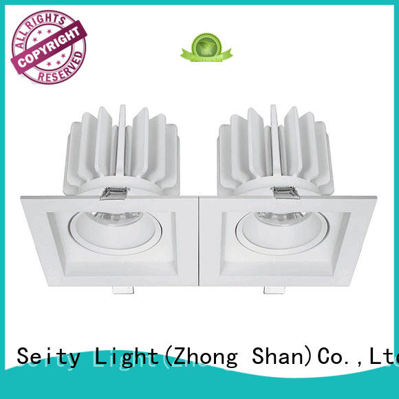 LED down lights/grille lights square led downlights 207024 MAX 30W
