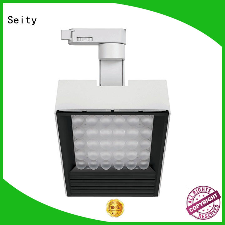 LED commercial track lighting kits, wall wash track light 340201 MAX 45W